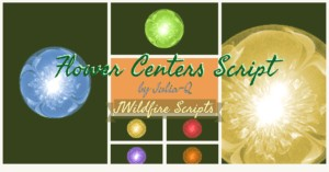 Flower Centers Script Image Display