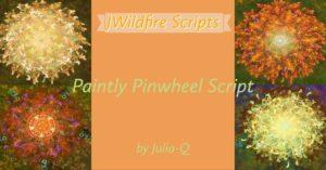 Paintly Pinwheel Script Image Display