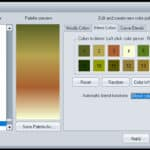 Chosen now save palette
