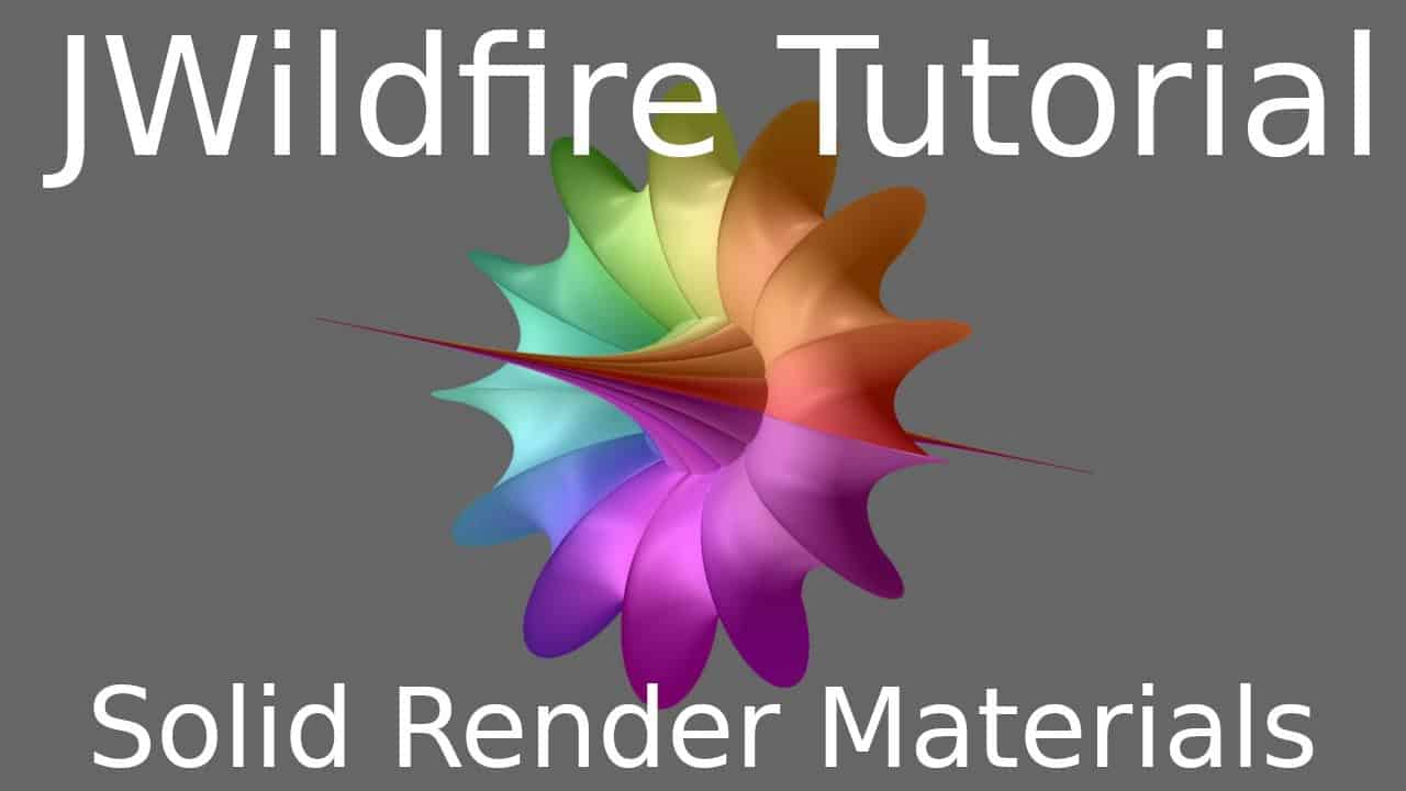 JWildfire Solid Render Materials
