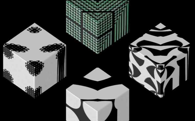 Texture Set # 2_ Primitive, nSudaku & Macmilan Black on white Image