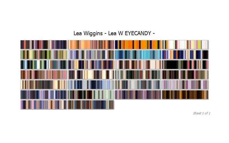 Lea Wiggins Eye Candy Collection Image