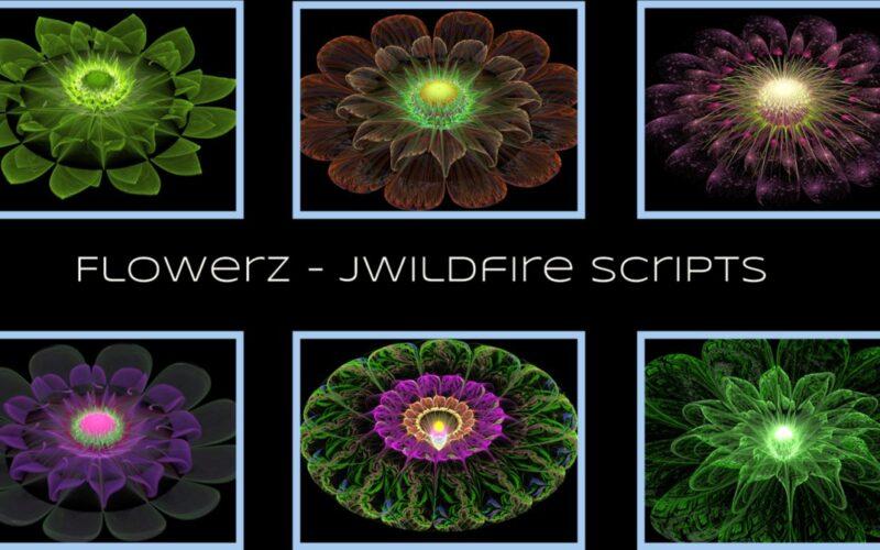 Flowerz Script Image
