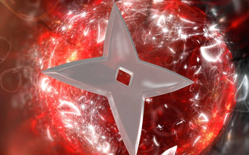 Shuriken 3D object Image