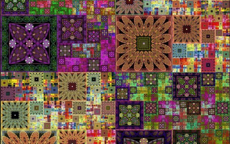 Sierpinski Quilt Layers Image